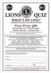 Peterborough Lions Quiz 2015