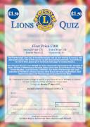 Peterborough Lions Quiz