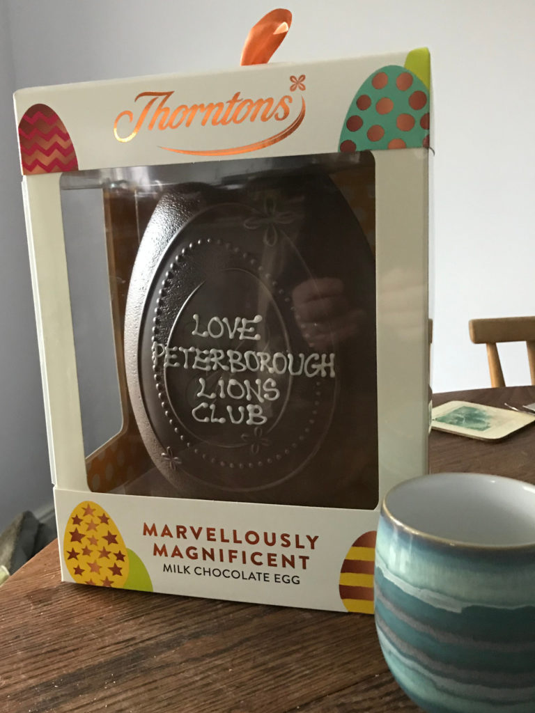 Giant Thornton's Easter Egg