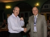 Lion Steve Jellis receives long service award