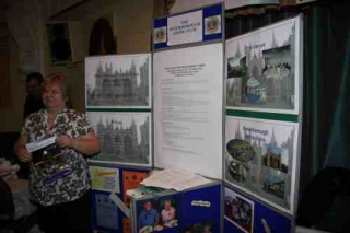 Promoting Peterborough Lions at Convention 2010